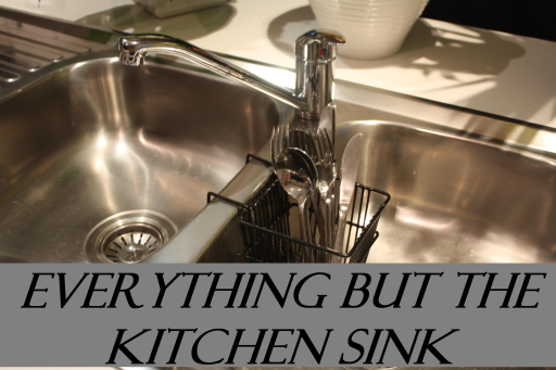 everything-but-the-kitchen-sink-IDIOM